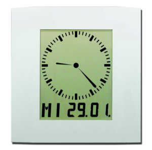 LCD-Kalender-Funkuhr DIGIDATE LC 200 AC
