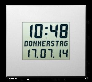 LCD-Kalenderuhr DIGIDATE LC 210 CW