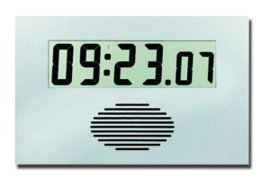 LCD-Kalenderfunkuhr Digidate LC 75 CLP