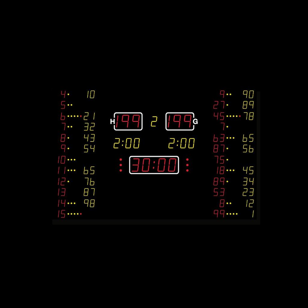 Multisportanzeige MSA 640