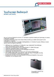 785_PR_Touchscreen_Bedienpult.pdf - Thumbnail