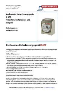 810_AT_Zeiterfassungsgeraet_K675.pdf - Thumbnail
