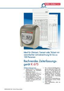 810_PR_Zeiterfassungsgeraet_K675.pdf - Thumbnail