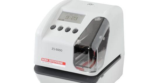 Zeit-, Datum- und Textdrucker ZS 6000