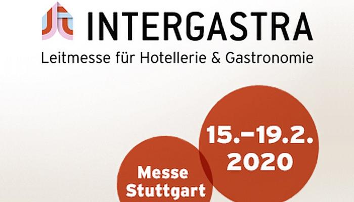 Wir sind auf der INTERGASTRA in Stuttgart