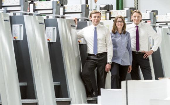 Zeiterfassung von BÜRK MOBATIME: Druckerei Esslinger expandiert