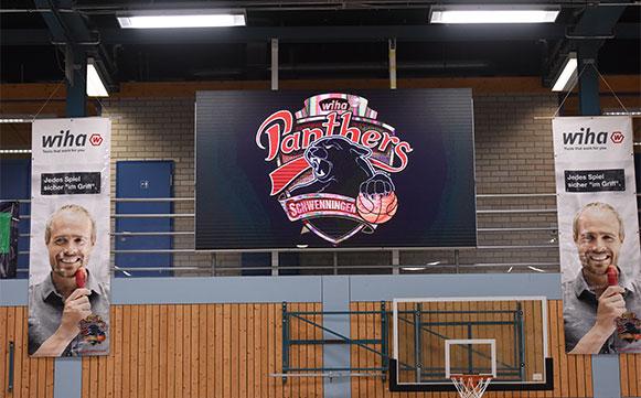 Neue Videosportanzeige in der 2. Basketball-Bundesliga