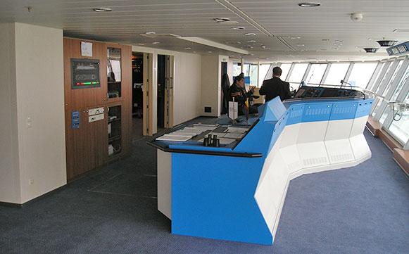 Das größte jemals in Deutschland gebaute Kreuzfahrtschiff mit Zeitdiensttechnik von BÜRK MOBATIME GmbH