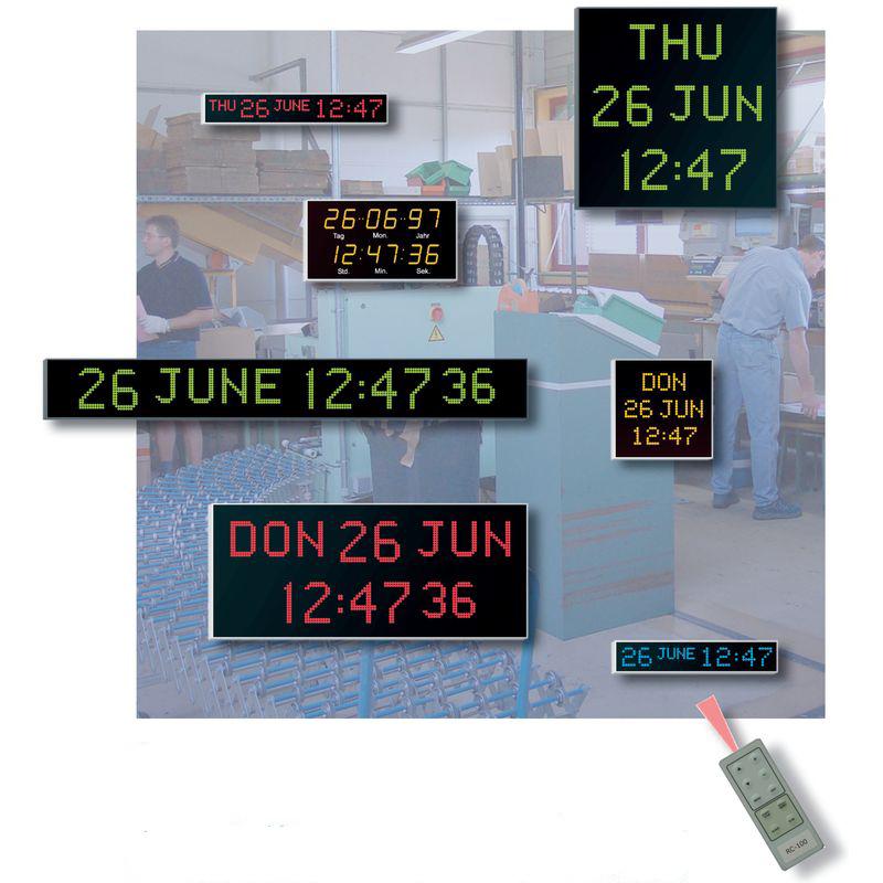 Digitaluhren Modellreihe 4500/4600