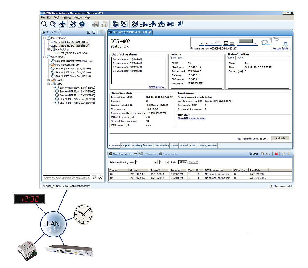 PC-Anwendung MOBA-NMS