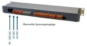 Zeitserver DTS 4135 Redundante Spannungsversorgung