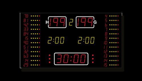 Basketball-Anzeige MSA 540