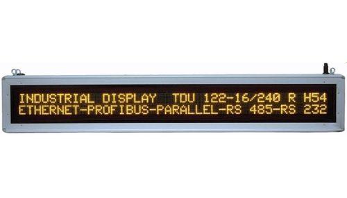 Industrie-Textdisplay TDU
