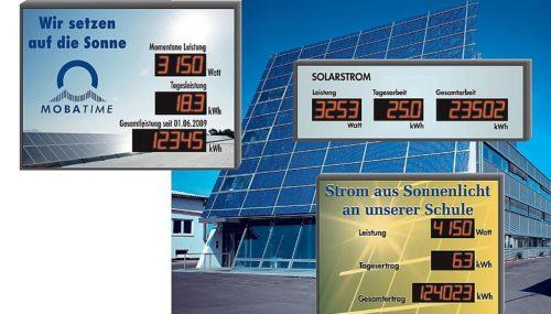 Photovoltaik-Anzeige Modellreihe DSI/DSO