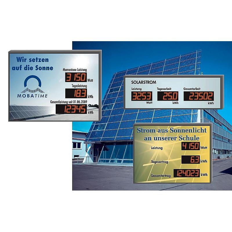 Photovoltaikanzeigen