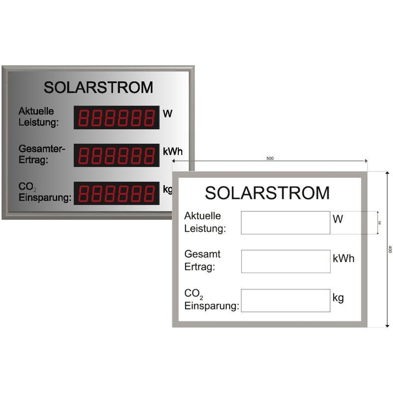 Photovoltaikanzeige DS.38