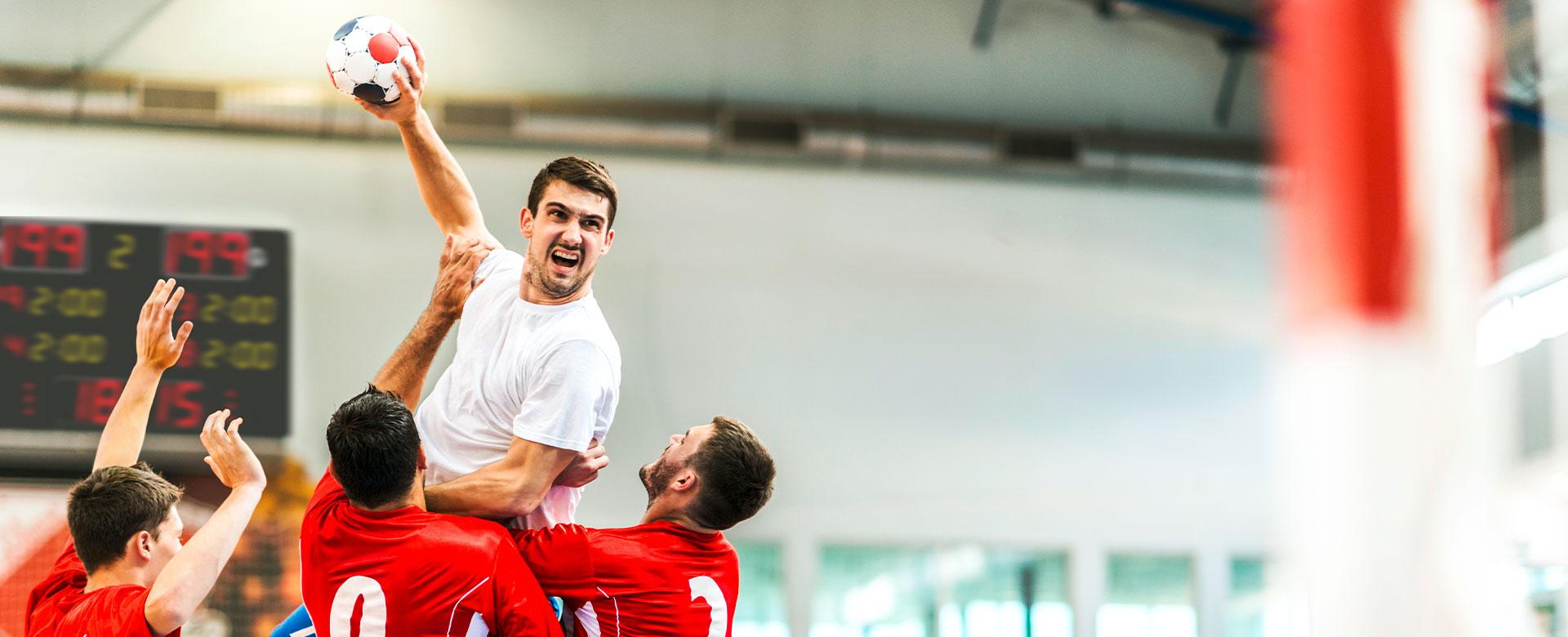 <h2>Klarer Treffer – Anzeigen für Handball und Volleyball</h2>