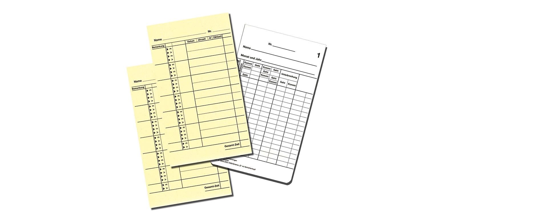 <h2>Stempelkarten, Farbversorgung und Kartenhalter</h2> <p></p> <p></p> <p></p>