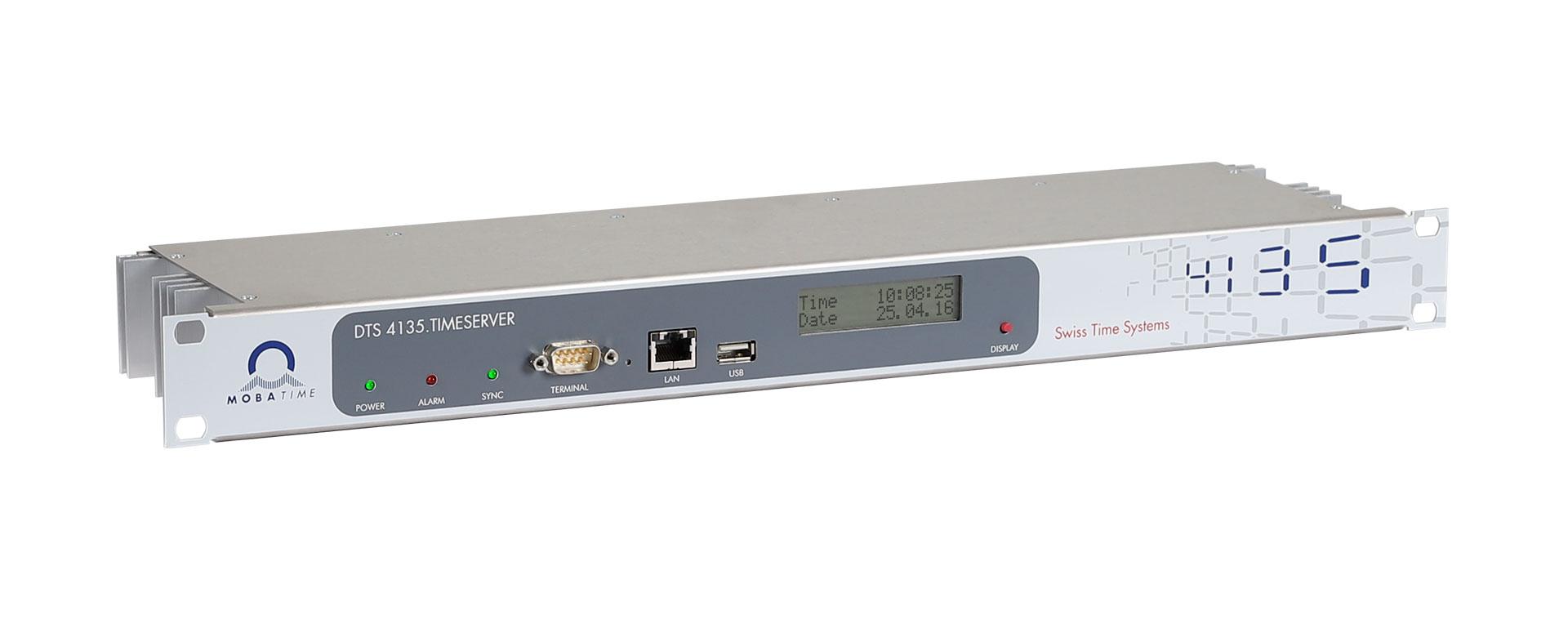 <h2>Timeserver für alle Netzwerk-Größen</h2>