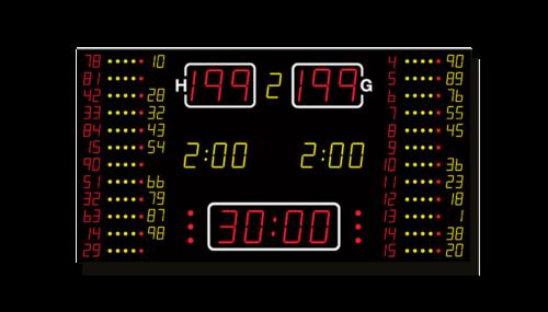 Basketball-Anzeige MSA 550