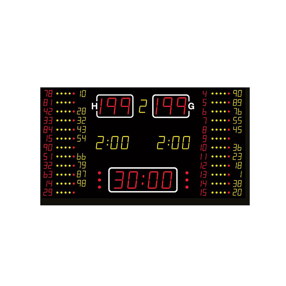 Basketball-Anzeige MSA 210.550