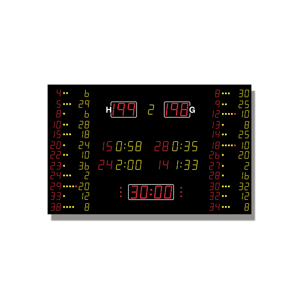 Basketball-Anzeige MSA 210.660