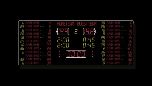 Basketball-Anzeige MSA 401