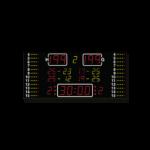 Basketball-Anzeige MSA 260.570 / Volleyball Ansicht