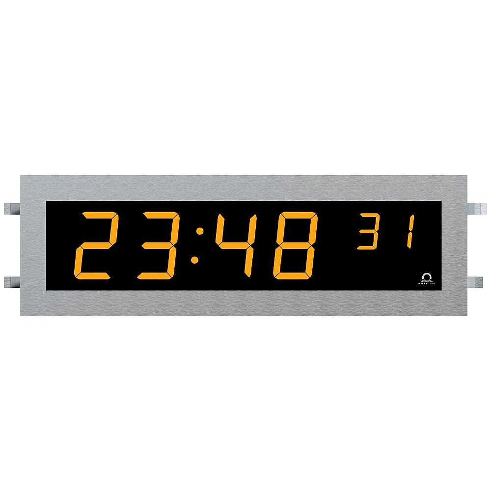 Edelstahl-Digitaluhr SLH-DC einzeilig
