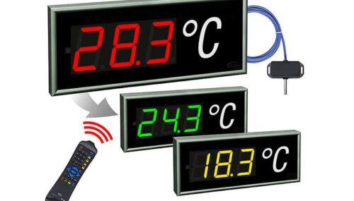 Einzeilige Temperaturanzeige CDN 100 T
