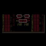 Basketballanzeige MSA 330.040-30