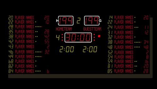 Basketball-Anzeige MSA 040