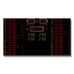 Basketballanzeige MSA 330.040-82