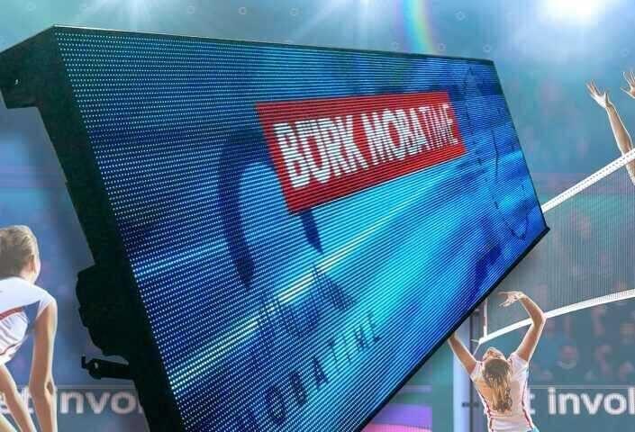LED-Werbebande BMTflex - Werbeeinnahmen im semiprofessionellen Sportbereich