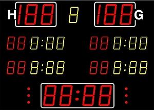 Handball-Anzeige MSA 420