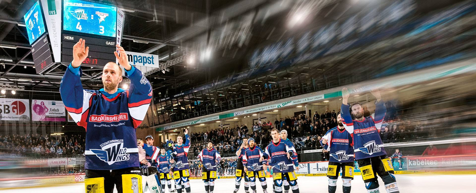 Drei perfekte Drittel – Eishockey-Anzeigen